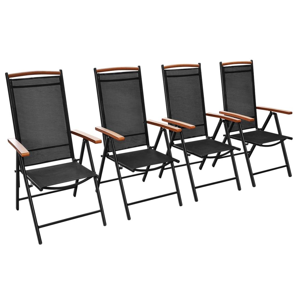 Articoli per vidaxl sedie da esterno pieghevoli in - Sedie da esterno ...