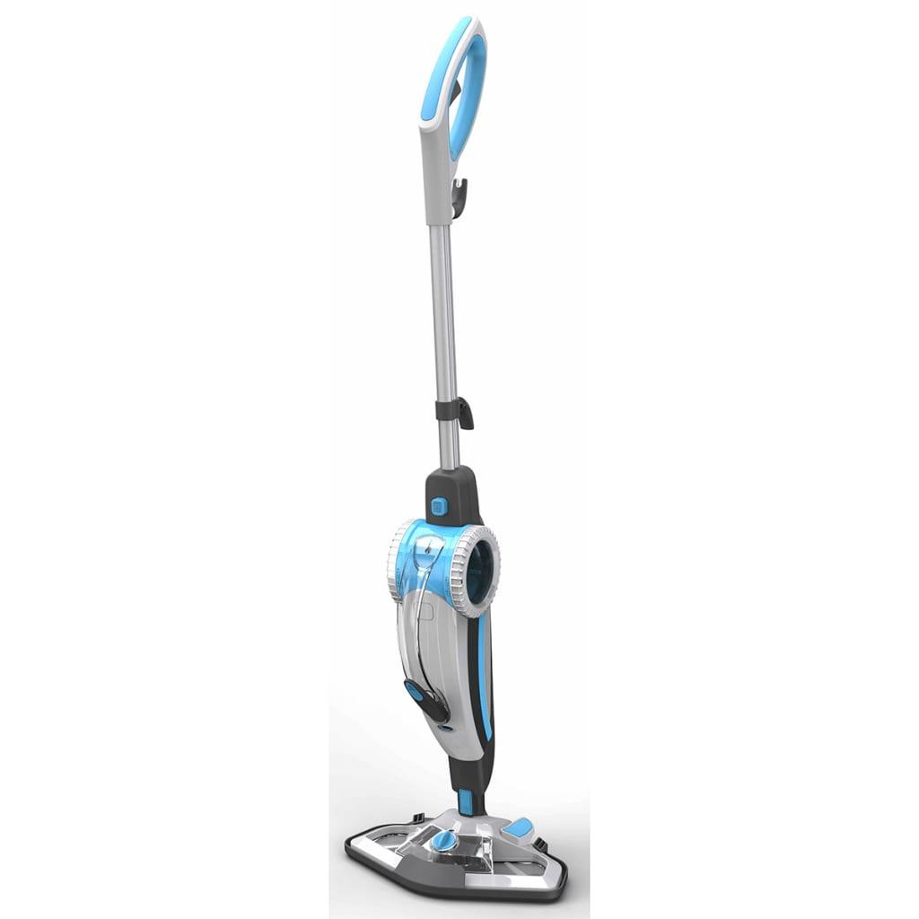 Afbeelding van Aqua Laser 2-in-1 stoomreiniger wit en blauw 1500 W