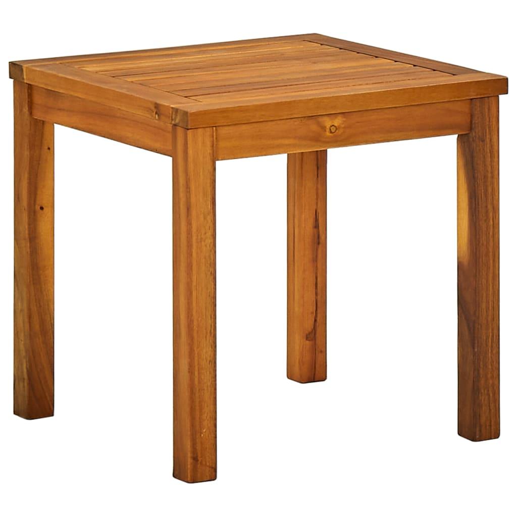 Acheter vidaxl ensemble de chaise longue et table bois d for Table chaise bois