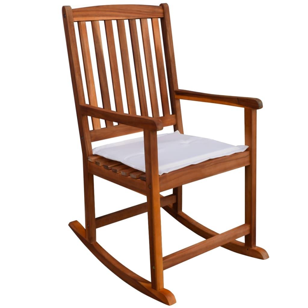 La boutique en ligne vidaxl chaise bascule pour jardin - Chaise jardin solde ...