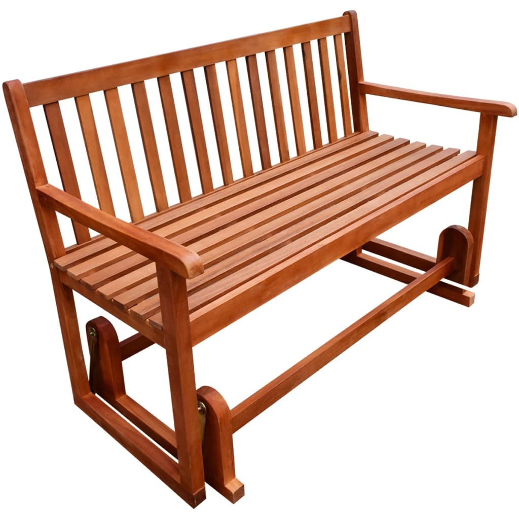 vidaXL Porch Glider/Swing Bench Acacia Wood