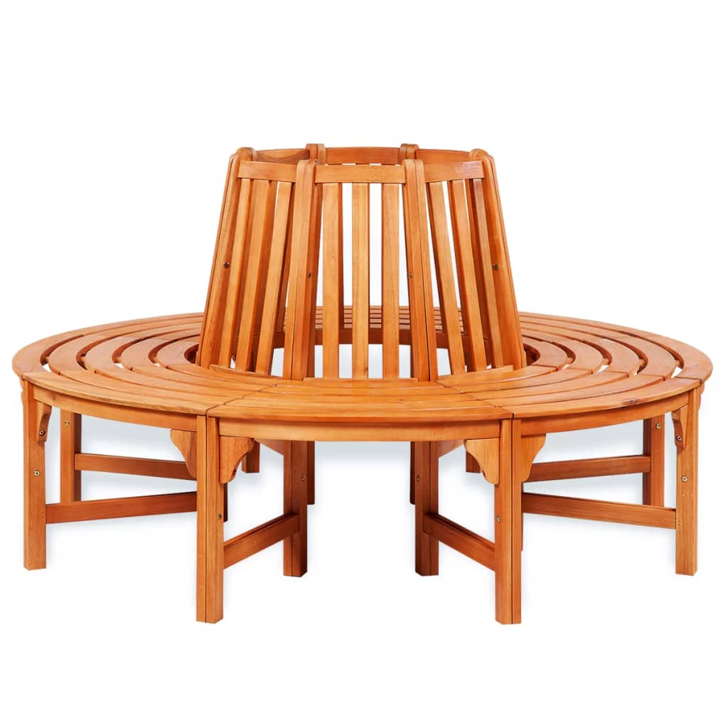 Vidaxl Circular Tree Bench Wood