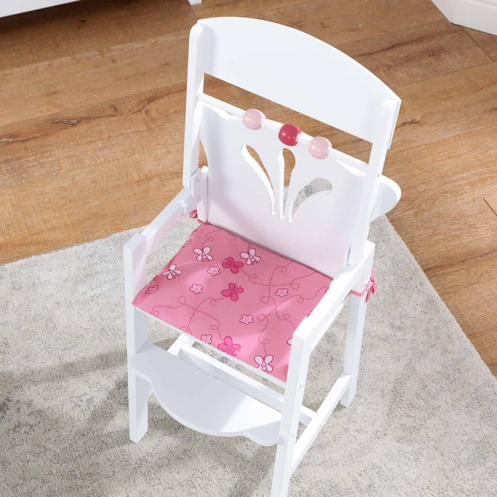 acheter kidkraft chaise haute de poup e lil 39 34 3 x 31 x. Black Bedroom Furniture Sets. Home Design Ideas