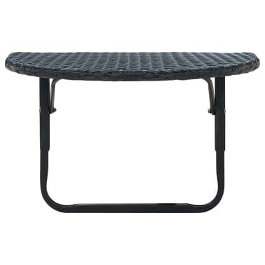Articoli per vidaxl tavolino da balcone poli rattan nero for Tavolino da balcone ikea