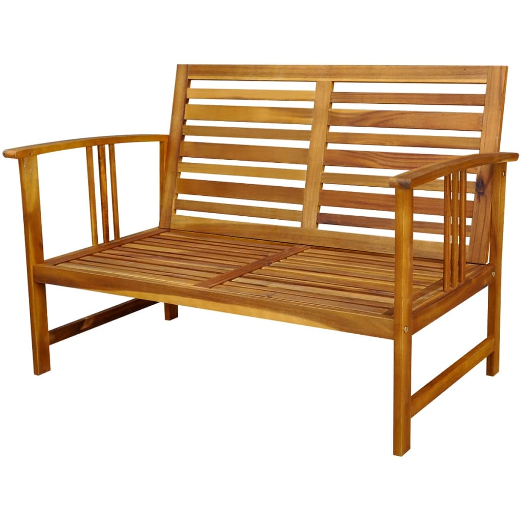 vidaxl four garden furniture set acacia wood