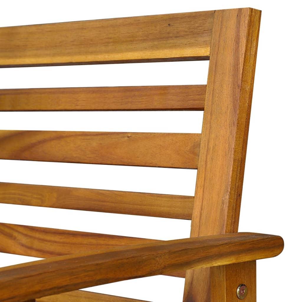 Garden Chair Set Part - 43: ... VidaXL Ten Piece Garden Furniture Set Acacia Wood[7/10] ...