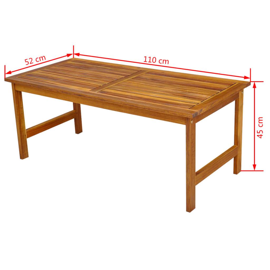 Acheter vidaxl ensemble meuble de jardin en bois d 39 acacia for Acheter des meubles pas cher