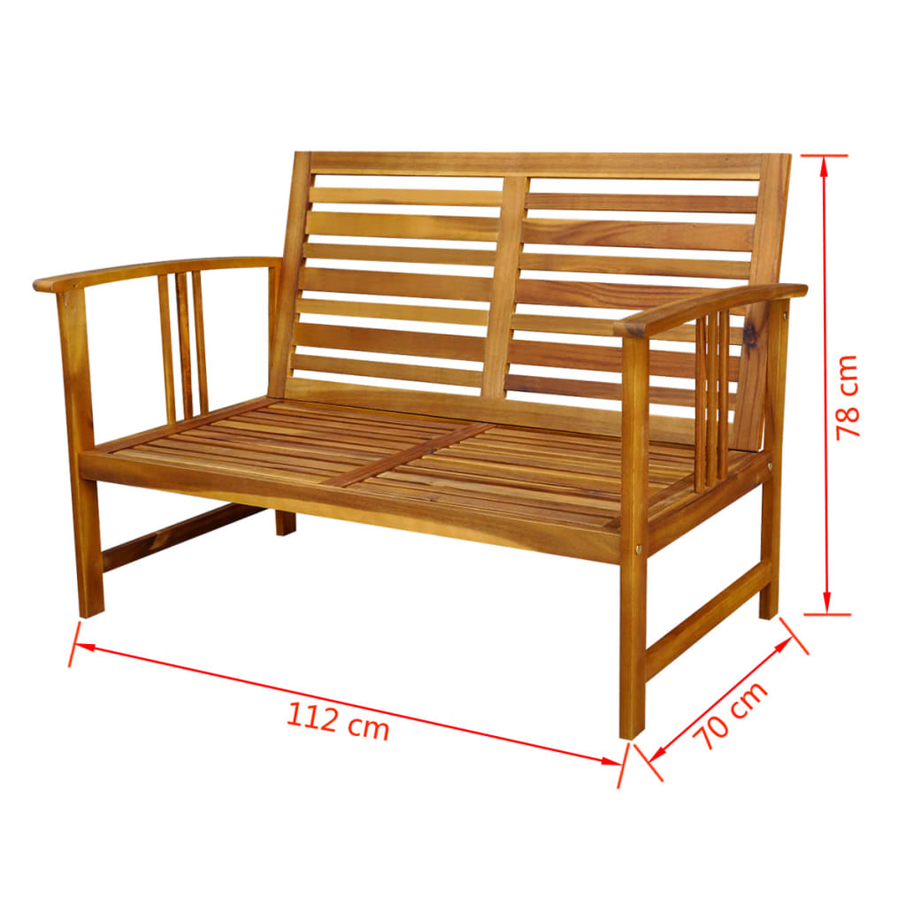 der vidaxl 10 tlg gartenm bel set akazienholz online shop. Black Bedroom Furniture Sets. Home Design Ideas