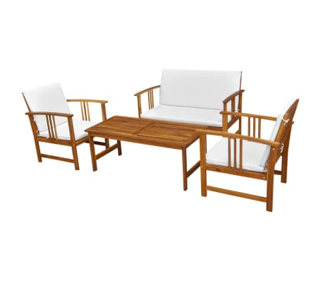 der vidaxl 10 tlg gartenm bel set akazienholz online shop. Black Bedroom Furniture Sets. Home Design Ideas