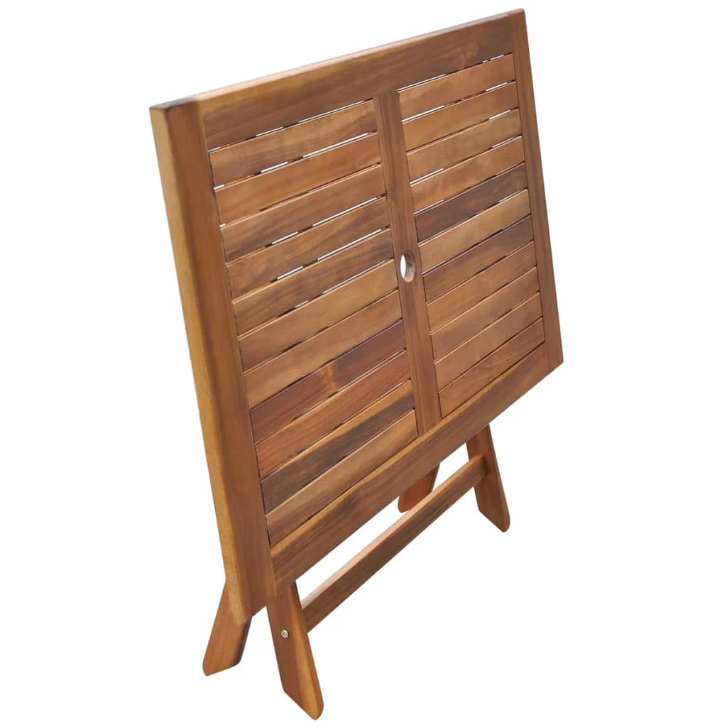 Acheter vidaxl table de salle manger d 39 ext rieur en bois for Table salle a manger en solde