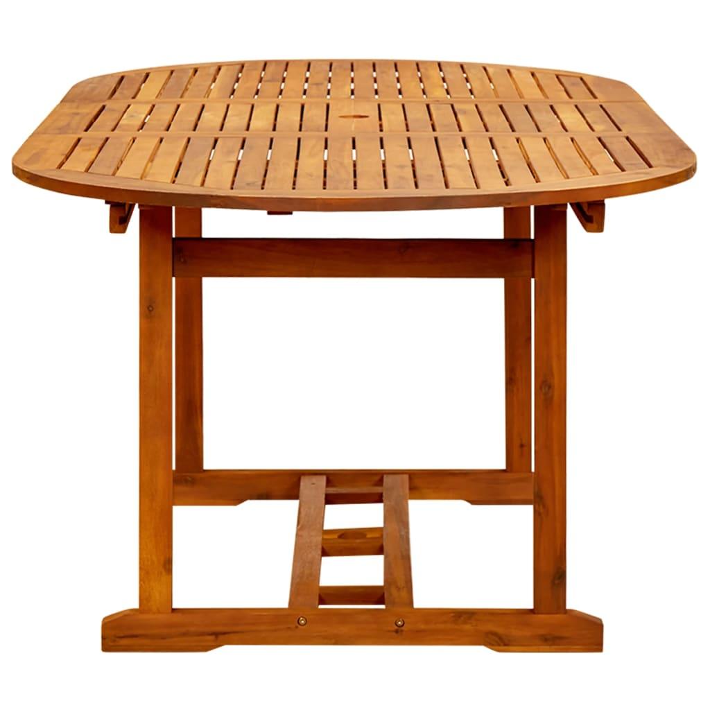 Articoli per vidaxl tavolo da esterno estendibile in legno for Articoli da esterno