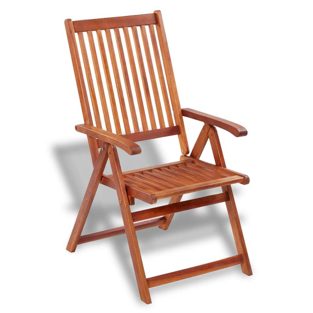 Vidaxl stoelen voor buiten 2 stuks acaciahout for Buiten stoelen