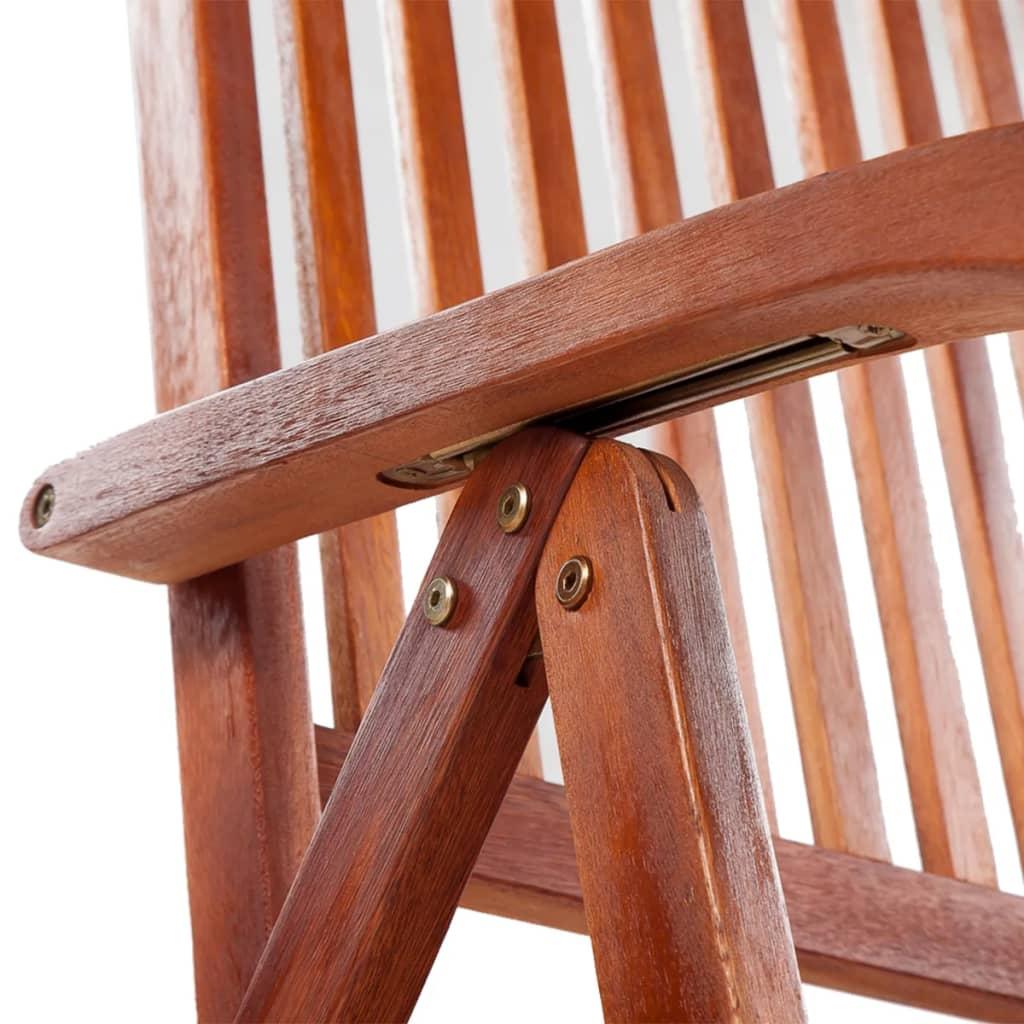 Vidaxl silla de comedor exterior 2 uds madera de acacia for Sillas de madera para exterior