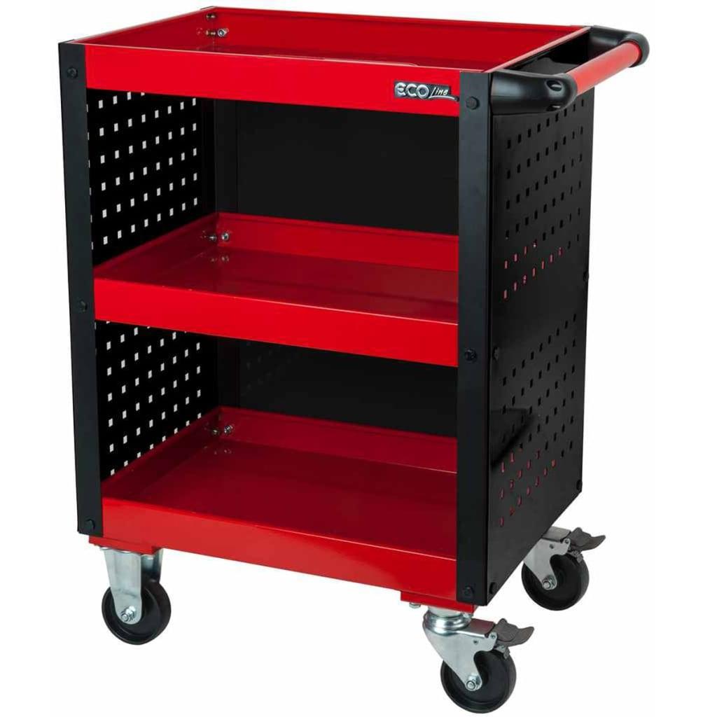 Afbeelding van KS Tools ECOline Werkplaats gereedschapswagen 68,2x42,6x85 cm 890.0006