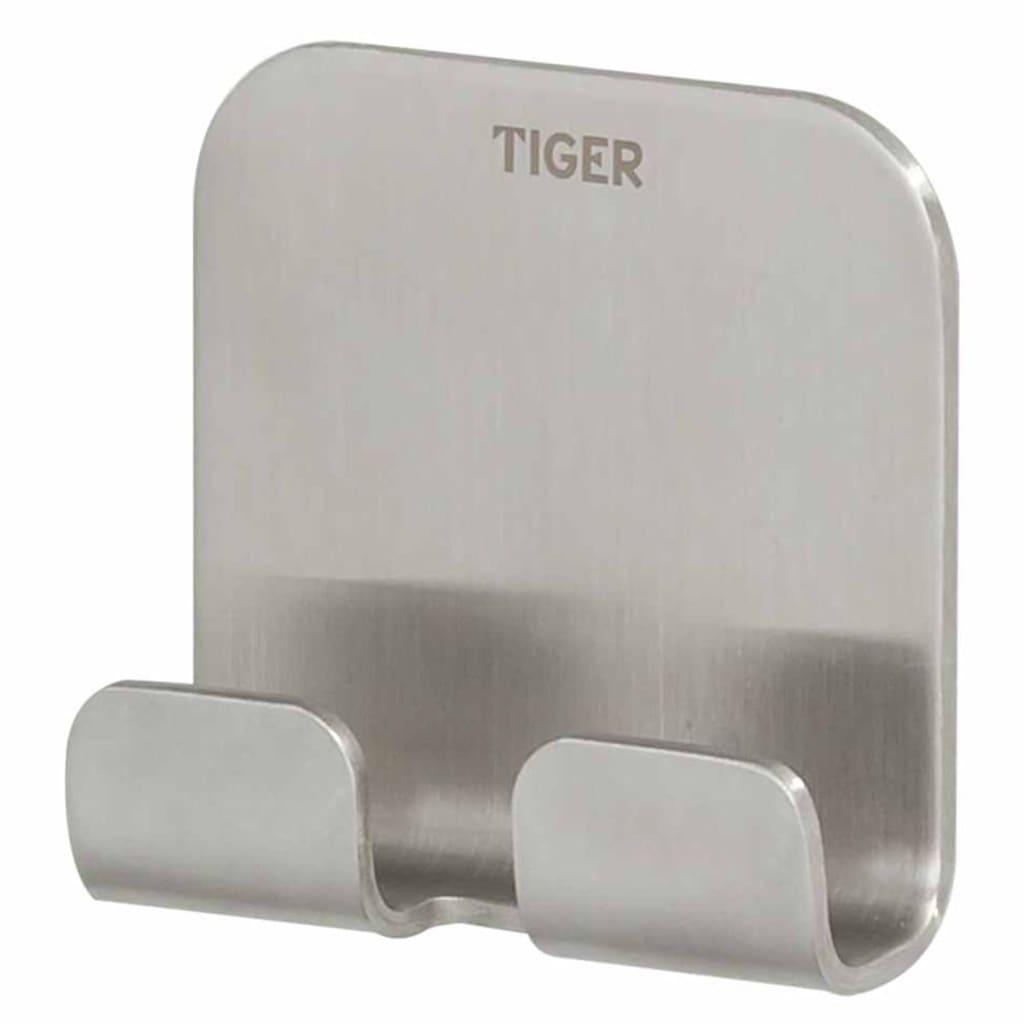 Afbeelding van Tiger Dubbele handdoek haak Colar zilver 1314630946