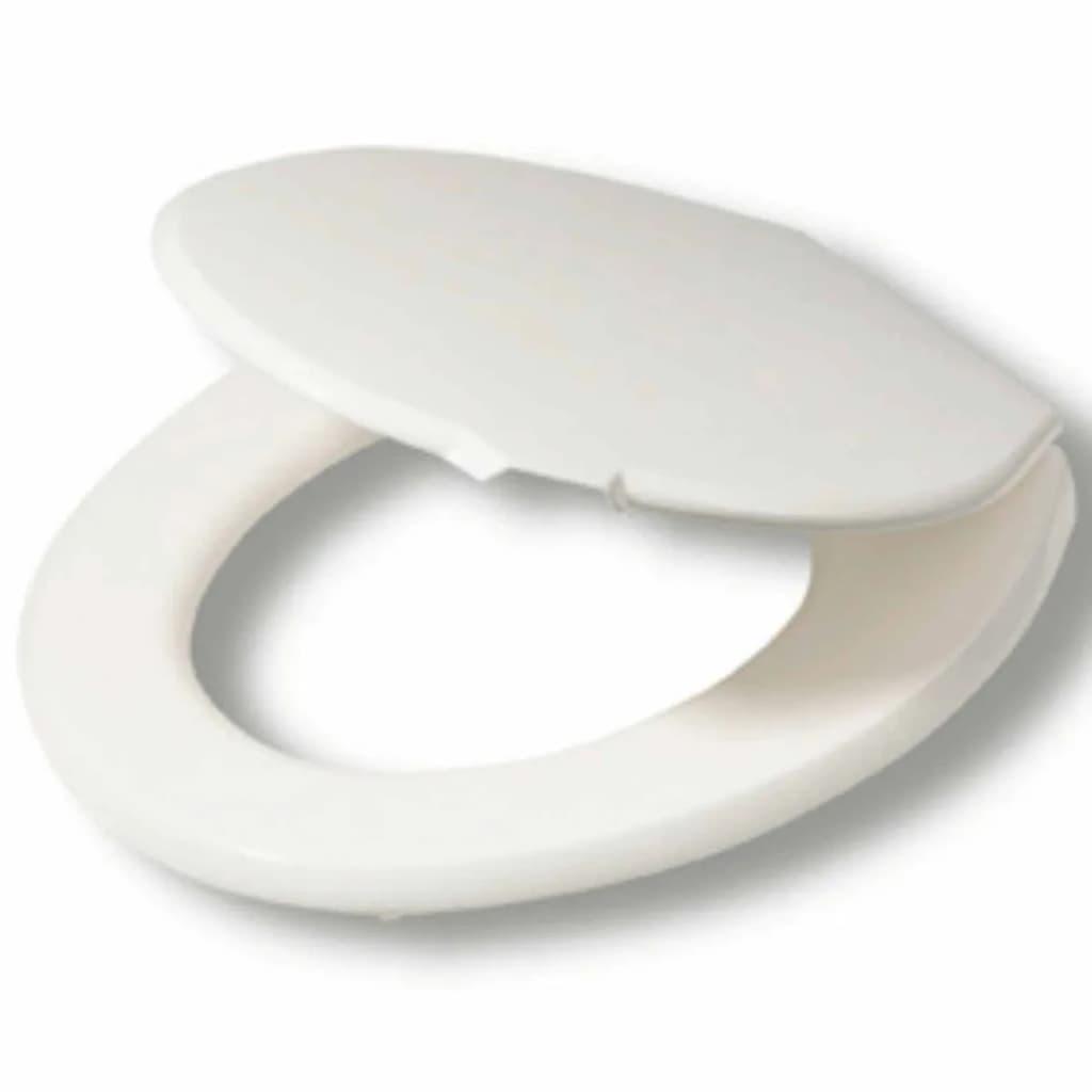 Afbeelding van Tiger Toiletbril Softline thermoplastisch wit 251600646