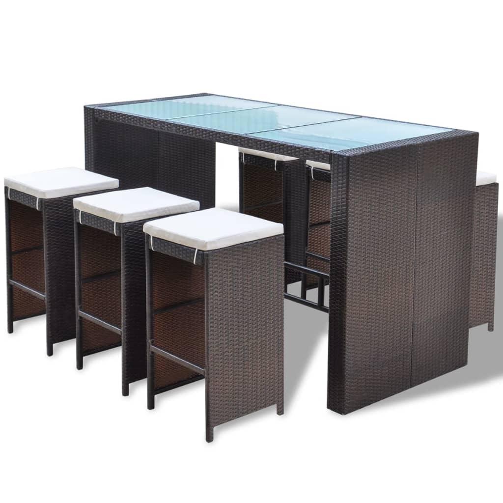 la boutique en ligne vidaxl ensemble bar de jardin de 13. Black Bedroom Furniture Sets. Home Design Ideas