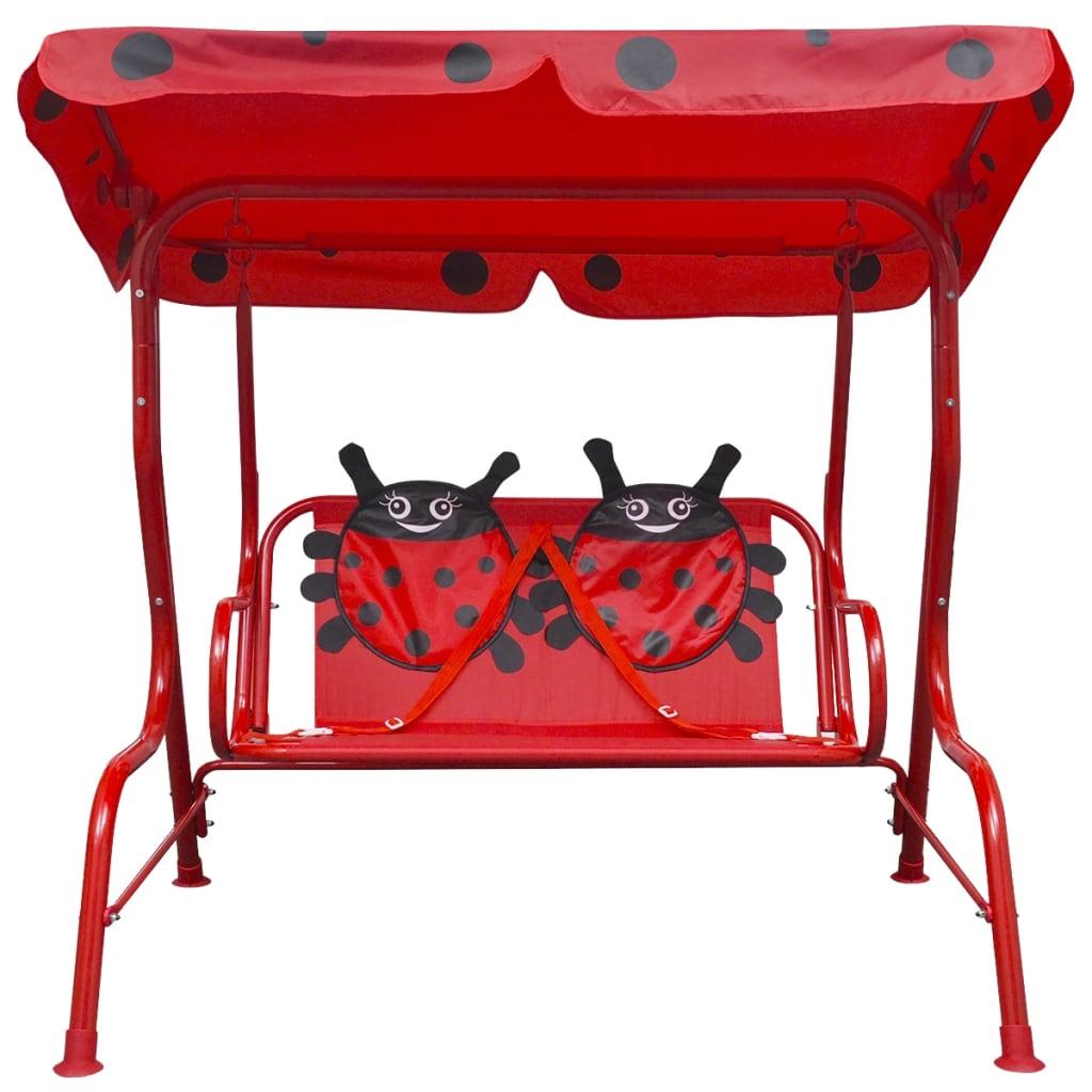 acheter vidaxl si ge balan oire pour enfants rouge pas cher. Black Bedroom Furniture Sets. Home Design Ideas
