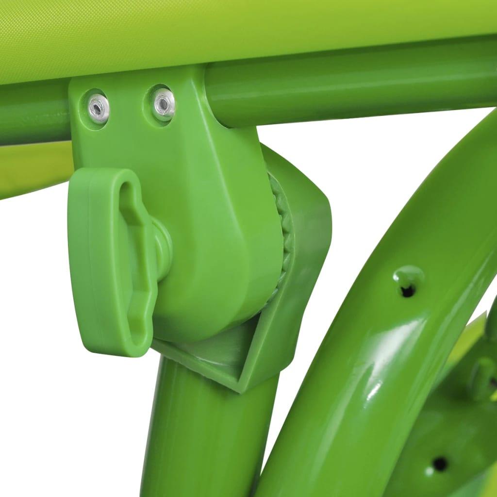acheter vidaxl si ge balan oire pour enfants vert pas cher. Black Bedroom Furniture Sets. Home Design Ideas