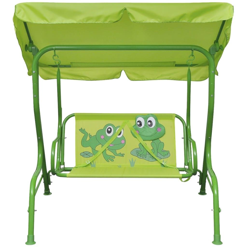 la boutique en ligne vidaxl si ge balan oire pour enfants vert. Black Bedroom Furniture Sets. Home Design Ideas