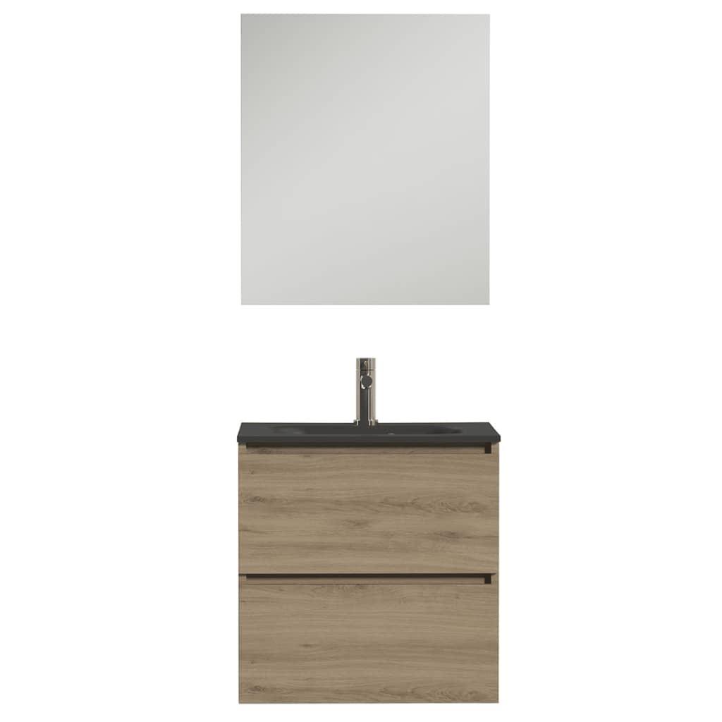 acheter tiger jeu de meuble de salle de bain loft 60 cm ch ne blanc 1644413200 pas cher. Black Bedroom Furniture Sets. Home Design Ideas