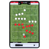 Pure2Improve Double-sided Coach Board Rugby 44x22 cm P2I100670