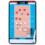 Pure2Improve Coach-bord dubbelzijdig volleybal 44x22 cm P2I100690