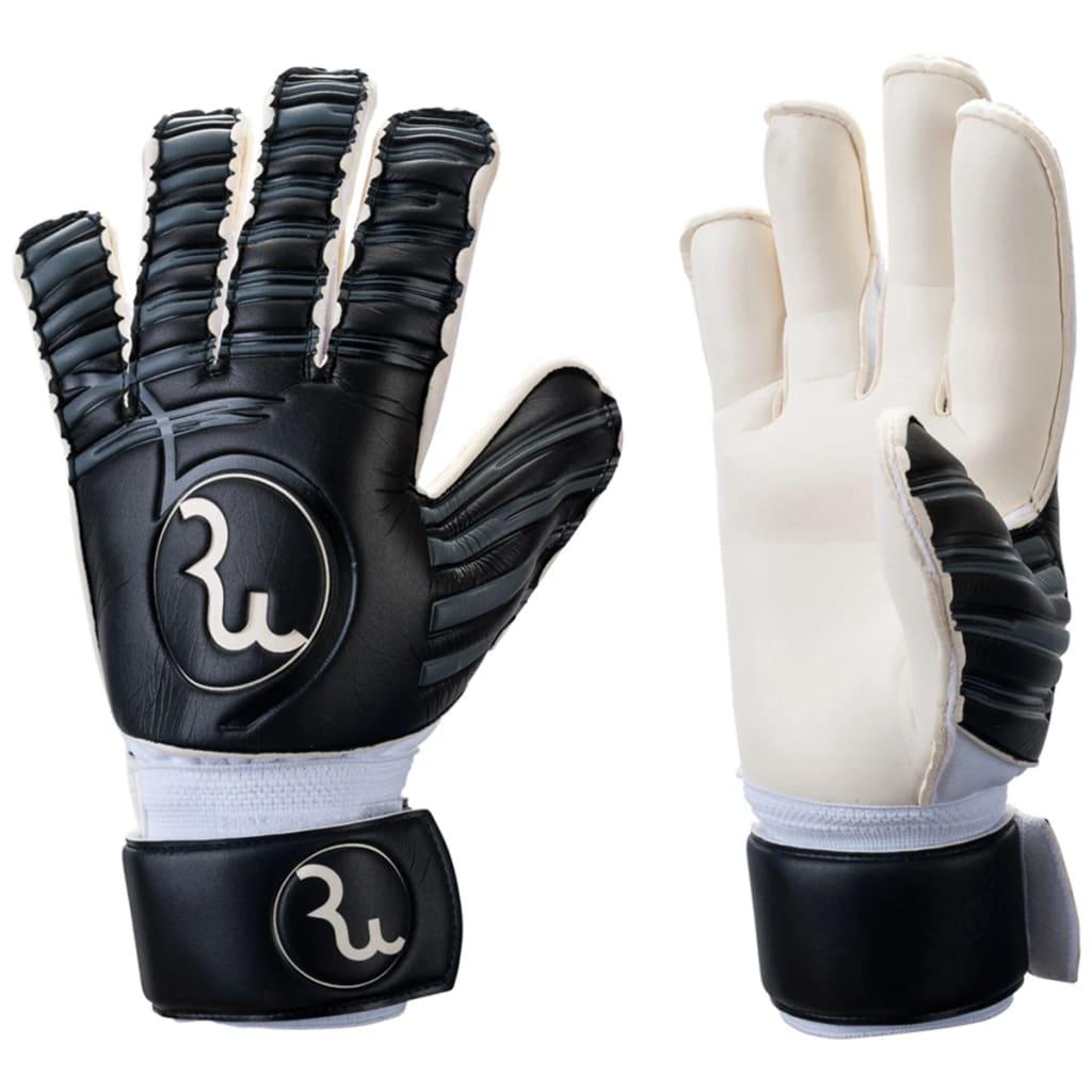 Pure2Improve RWLK Fußball Torwart Handschuhe Hybrid Schwarz Größe 7 P2I990041