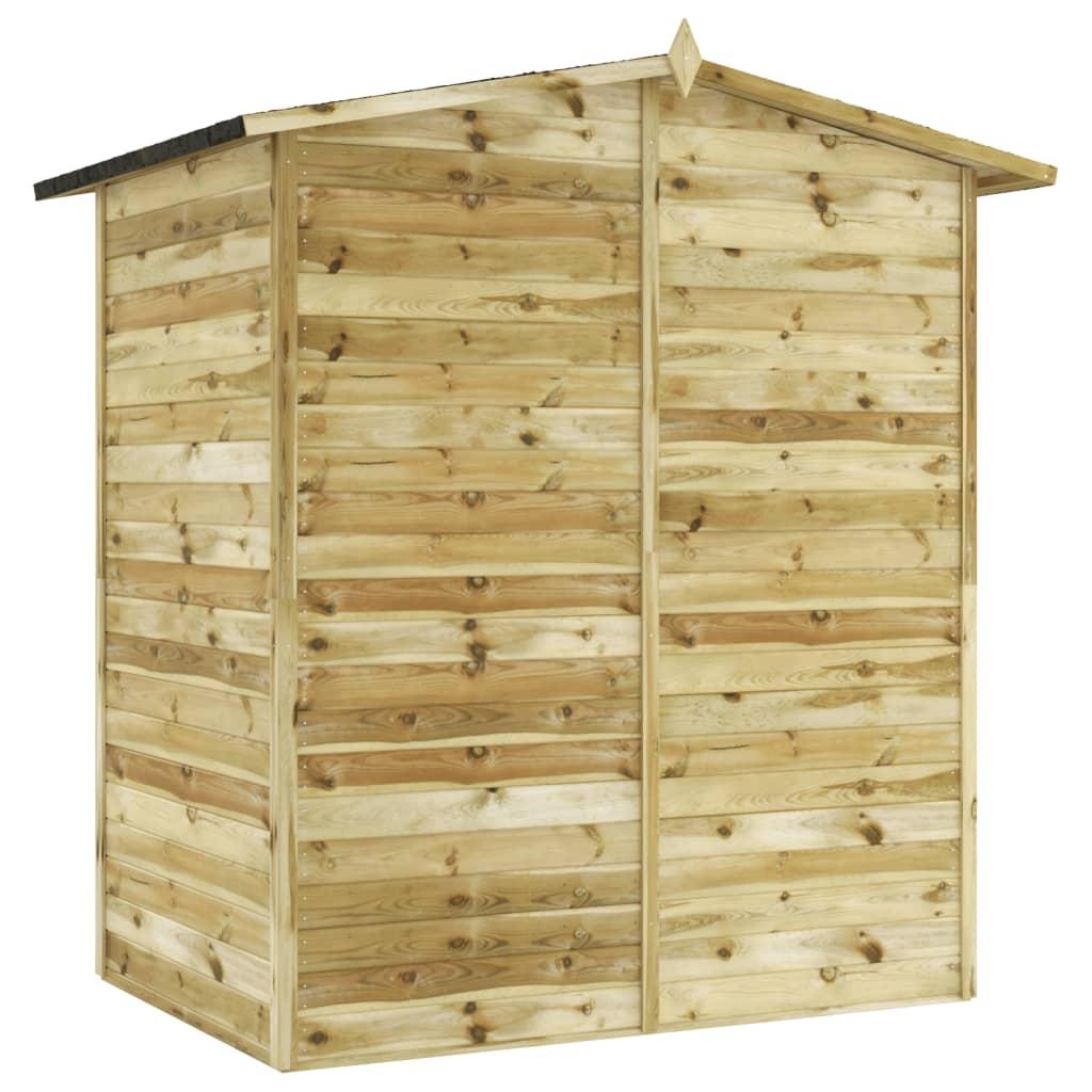 la boutique en ligne vidaxl abri de jardin en bois de pin impr gn 1 5 x 2 m. Black Bedroom Furniture Sets. Home Design Ideas