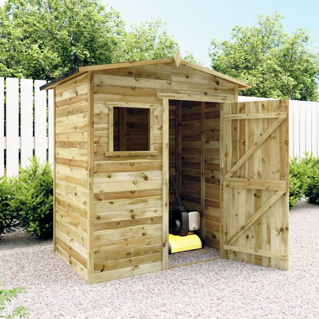 vidaxl gartenhaus laube blockh tte impr gniertes. Black Bedroom Furniture Sets. Home Design Ideas