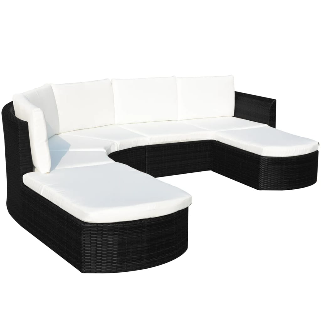 acheter vidaxl 16 pi ces de mobilier de jardin en rotin. Black Bedroom Furniture Sets. Home Design Ideas