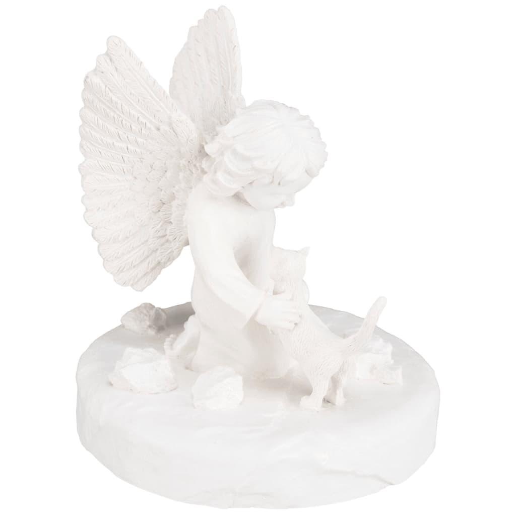 Afbeelding van TRIXIE Gedenksteen kat met engel wit 38419