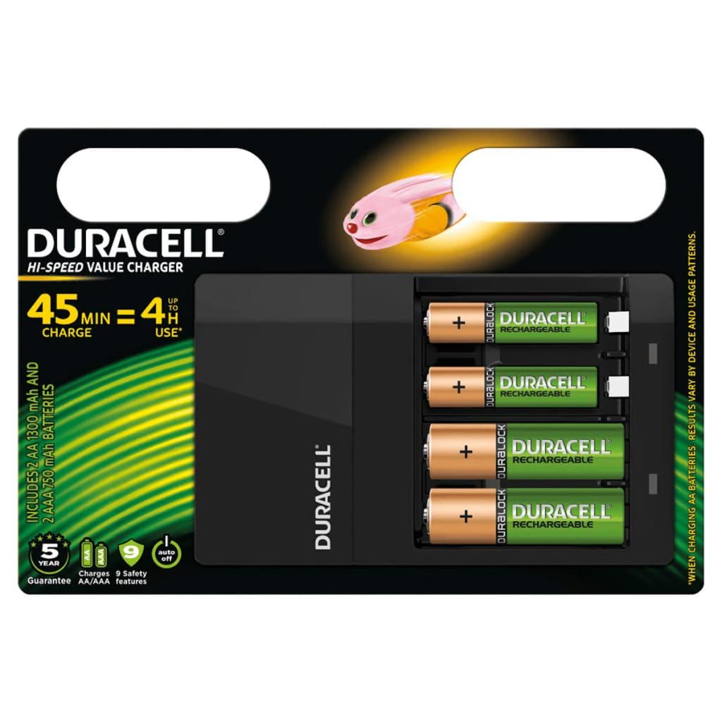 Afbeelding van Duracell Batterij-oplader Hi-Speed 45 min CEF14