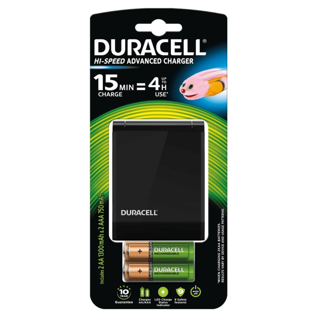 Afbeelding van Duracell Batterij-oplader Hi-Speed 15 min CEF27