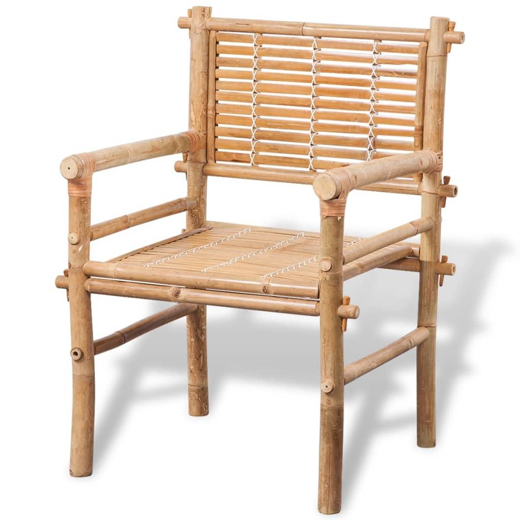 vidaXL Fünfteiliges Gartenmöbel-Set Bambus günstig kaufen | vidaXL.de