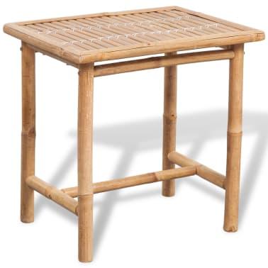 der vidaxl f nfteiliges gartenm bel set bambus online shop. Black Bedroom Furniture Sets. Home Design Ideas