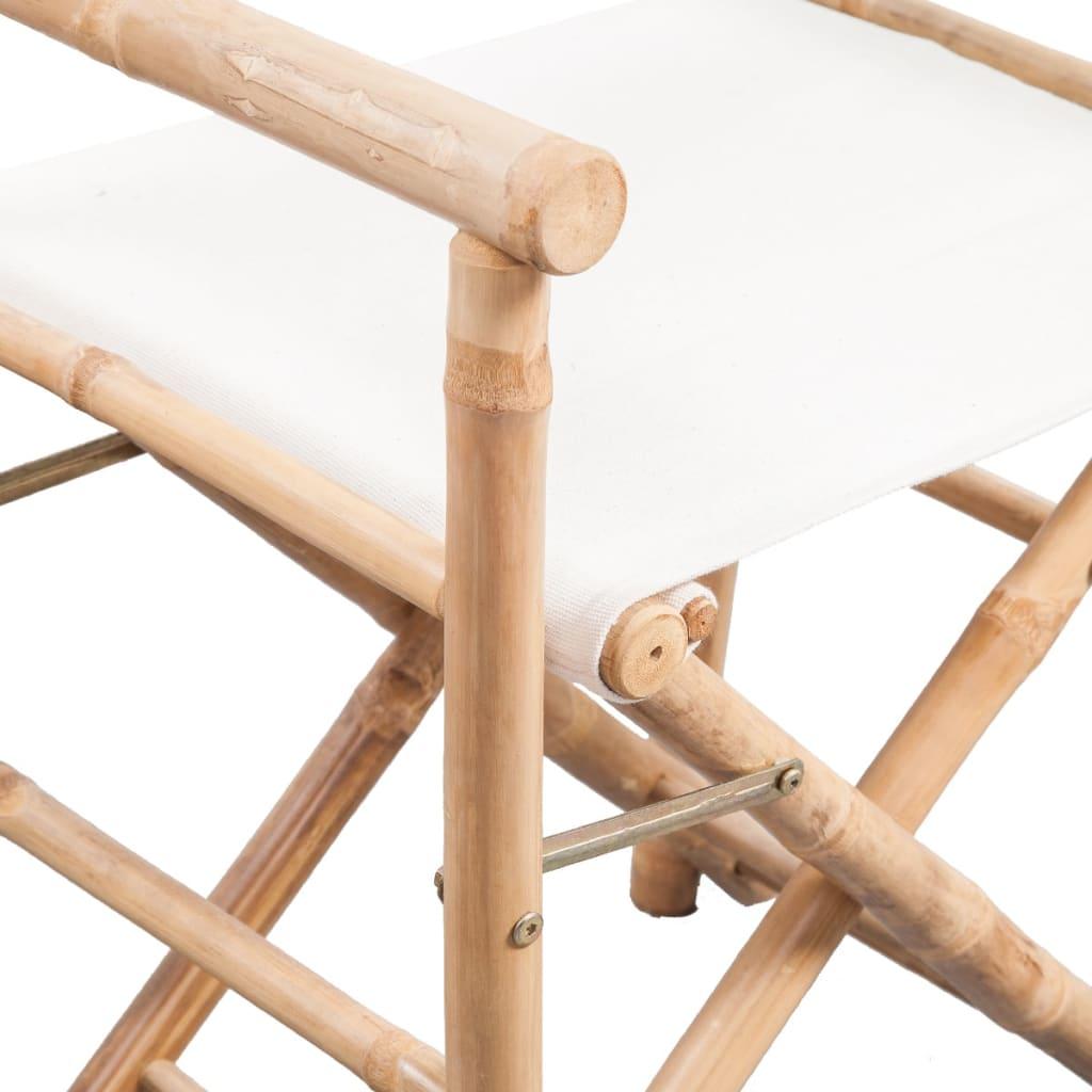 Missoni Home Outdoor Folding Chair Regista: Articoli Per VidaXL Sedia Pieghevole Da Regista In Bamboo