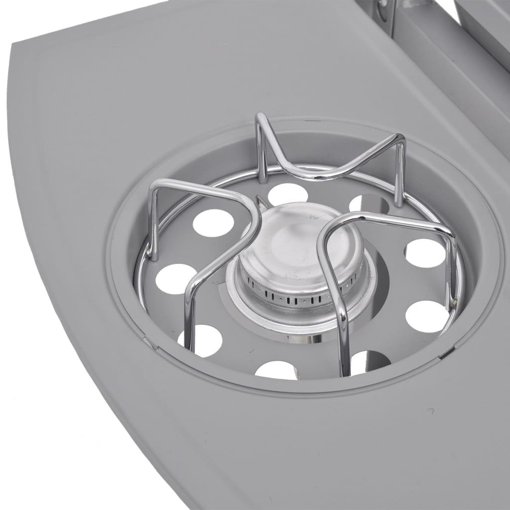 vidaxl gasgrill barbecue grill 6 1 brenner silber g nstig kaufen. Black Bedroom Furniture Sets. Home Design Ideas