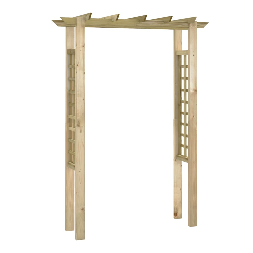 Impregnated wooden arbour rose arch 150 x for Miroir 50 x 150