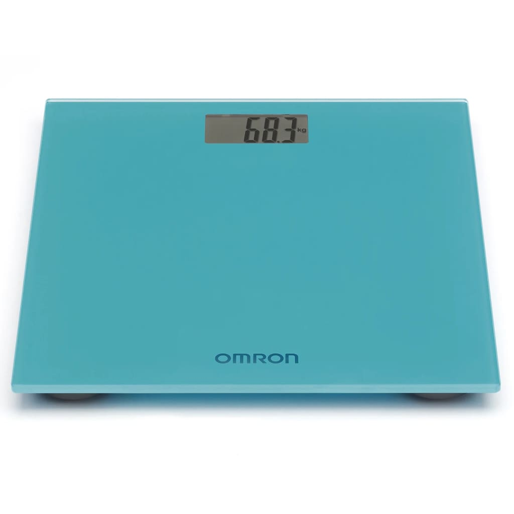 Omron digital badevægt blå 150 kg OMR-HN-289-EB