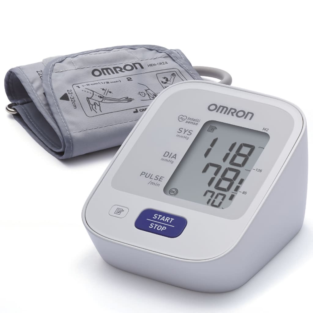 Omron blodtryksmåler til overarmen OMR-M2 (HEM-7121-E)