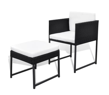 This 8 Person Rattan Dining Set Has An Elegant Design And Consists Of 1  Table, 4 Chairs And 4 Stools. Our Rattan Garden Furniture Set Will Be The  Focal ...