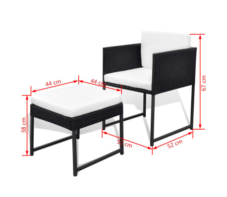 This 8 Person Rattan Dining Set Has An Elegant Design And Consists Of 1 Table 4 Chairs And 4 Stools Our Rattan Garden Furniture Set Will Be The Focal