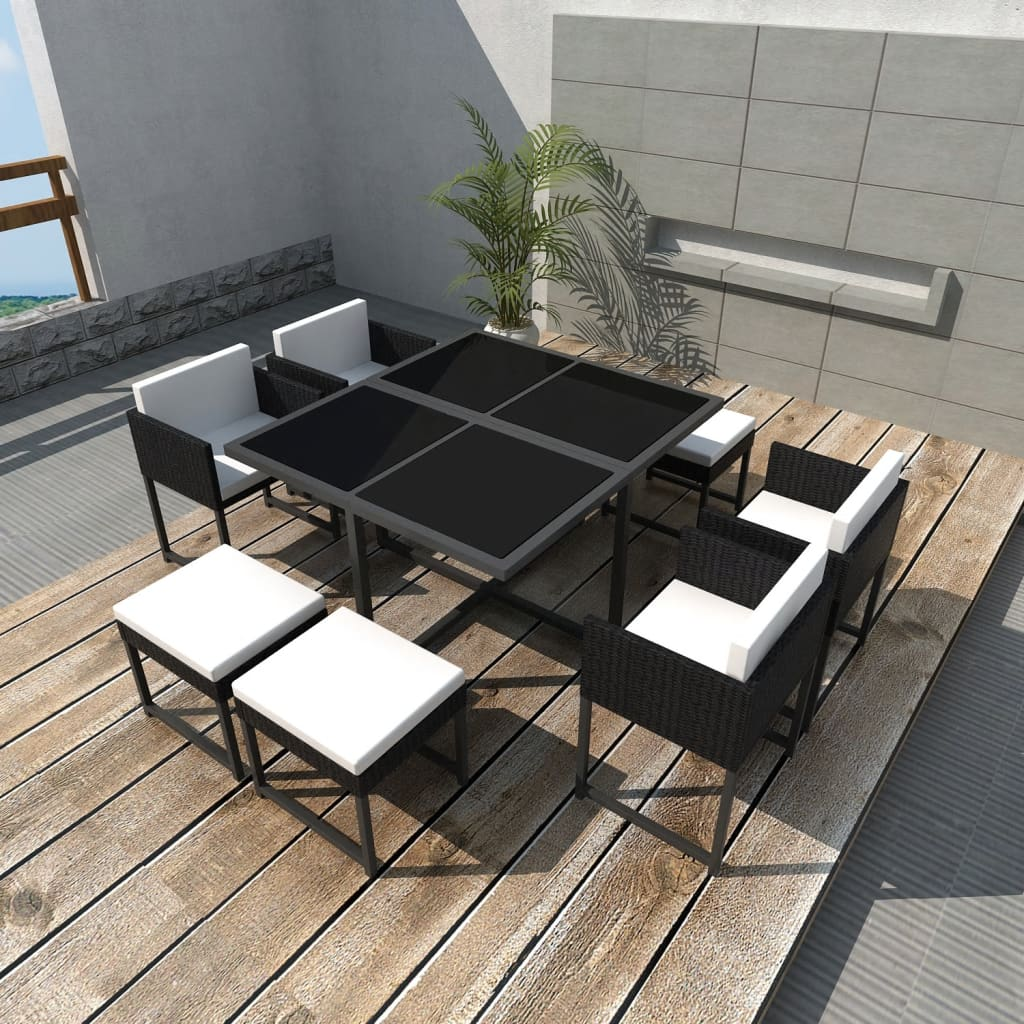 vidaxl-21-piece-outdoor-dining-set-black-poly-rattan