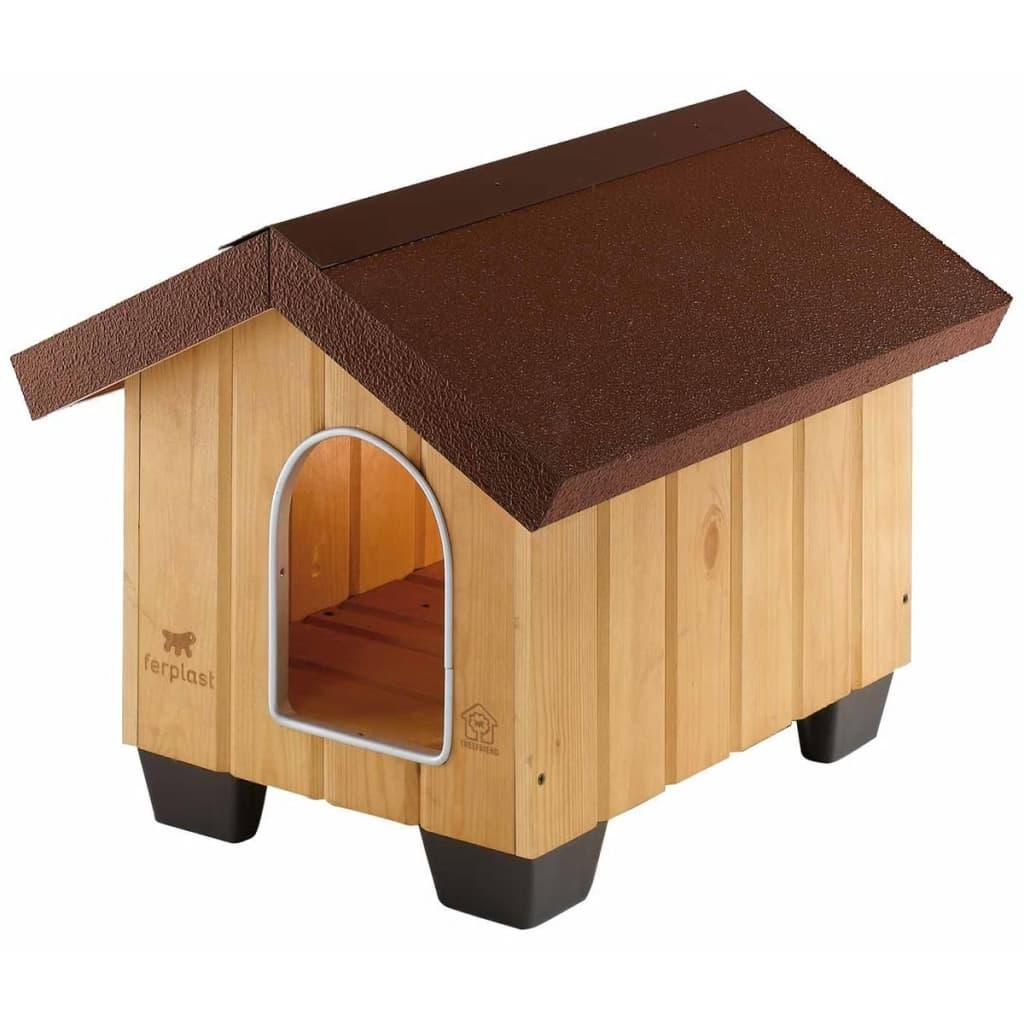 Afbeelding van Ferplast Hondenhok Domus Mini 50x65x47,5 cm hout 87000000
