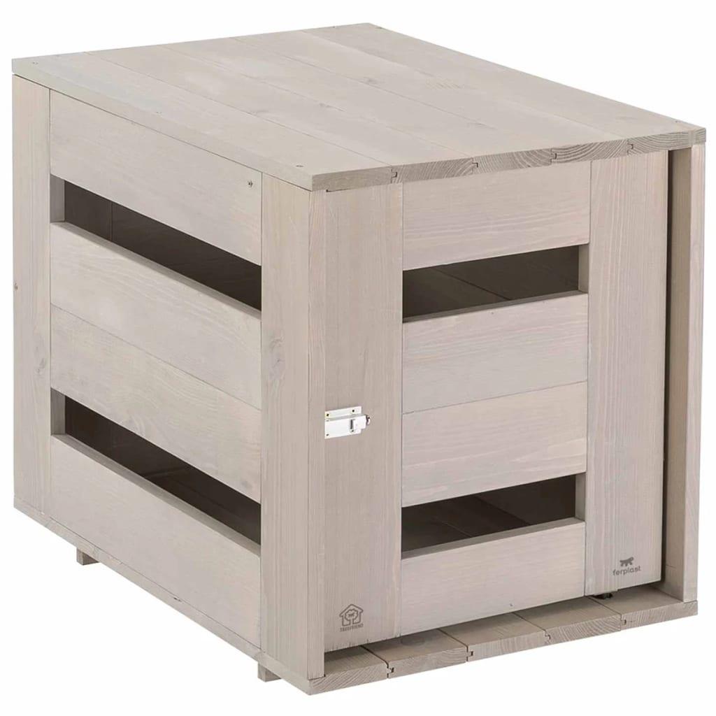 Afbeelding van Ferplast Hondenbench Home klein 65x45x54 cm hout 87030121