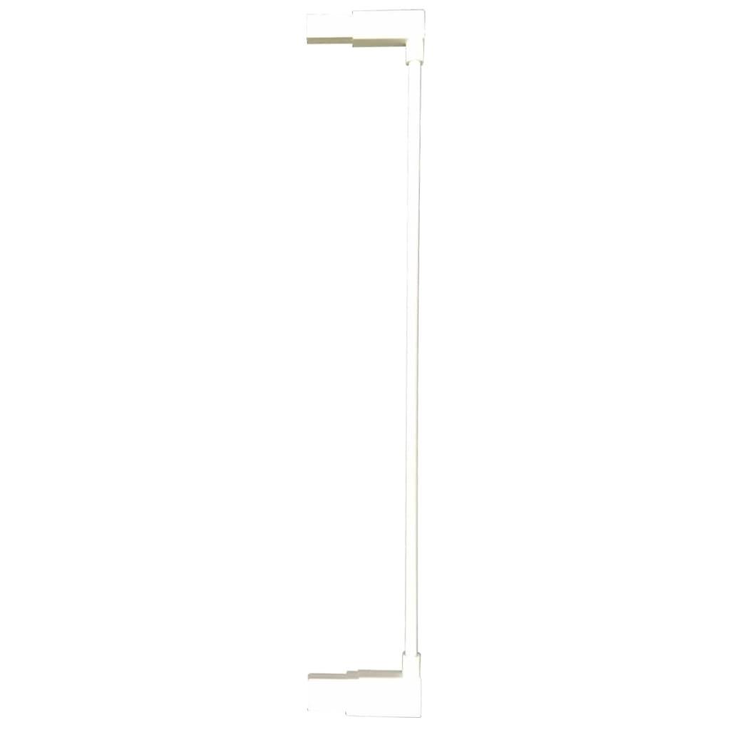 Afbeelding van Noma Verlengstuk traphekje Easy Pressure Fit 7 cm metaal wit 93682