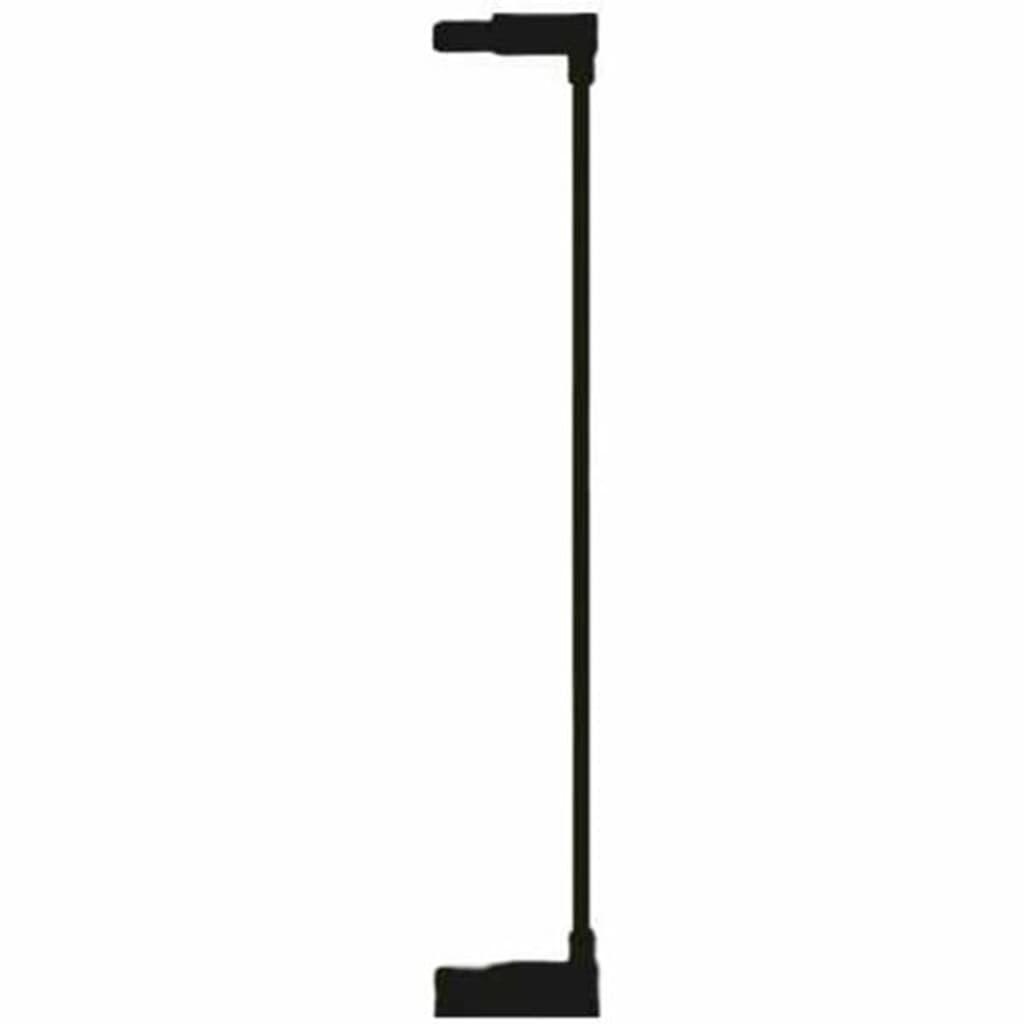 Afbeelding van Noma Verlengstuk traphekje Easy Pressure Fit 7 cm metaal zwart 93699