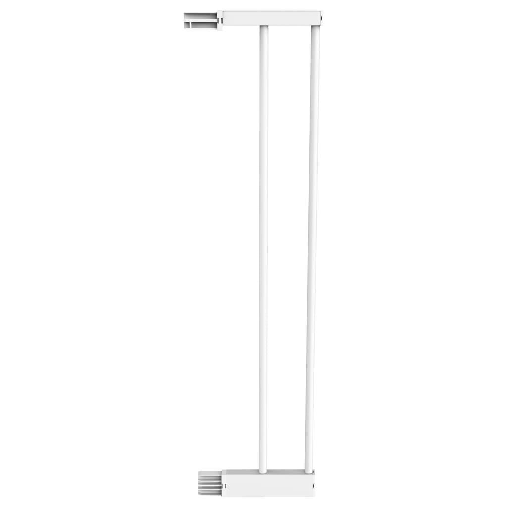 Noma Sikkerhetsport-forlenger Easy Pressure Fit 14cm metall hvit 93965
