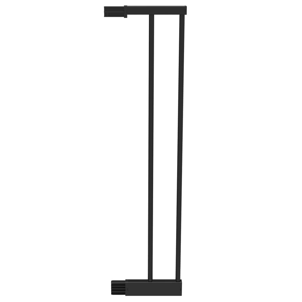 Afbeelding van Noma Verlengstuk traphekje Easy Pressure Fit 14 cm metaal zwart 93835